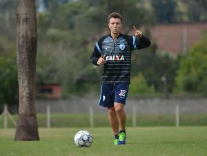 Dagoberto segue em recuperação no CT da SM Sports Foto: Gustavo Oliveira/Londrina Esporte Clube