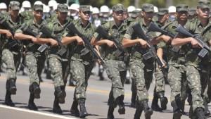 Em Londrina, 160 são convocadas para compor as turmas do Tiro de Guerra. Foto: Agência Brasil