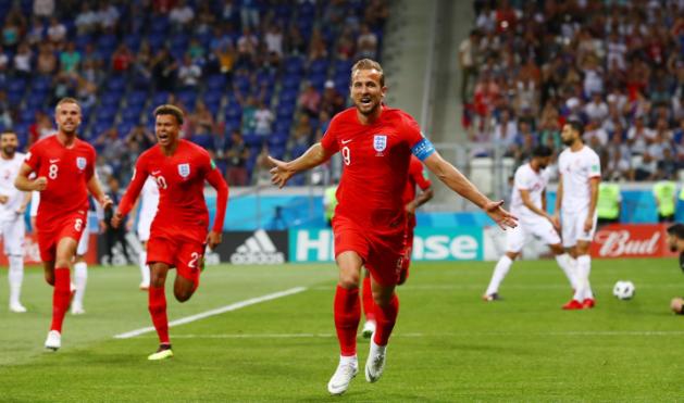 Foto Seleção Inglesa Harry Kane
