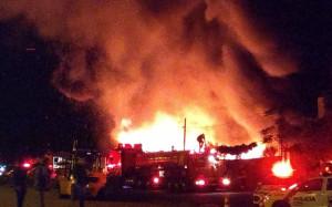 incendio patio do detran Foto WhatsApp Paiquere