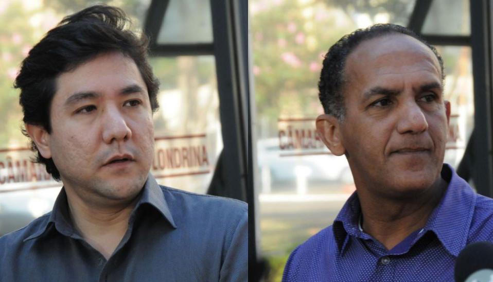 Mário Takahashi e Rony Alves. Foto: Devanir Parra/CML