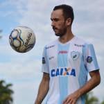 Thiago Ribeiro marcou o primeiro gol com a camisa alviceleste. Foto: Gustavo Oliveira/LEC