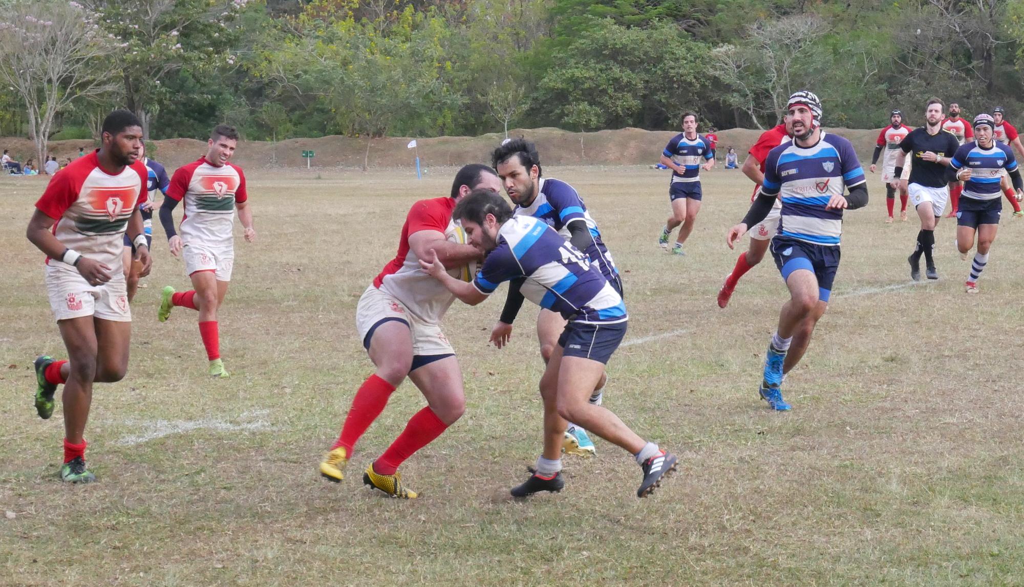 pe vermelho rugby foto Divulgação/Pé Vermelho Rugby