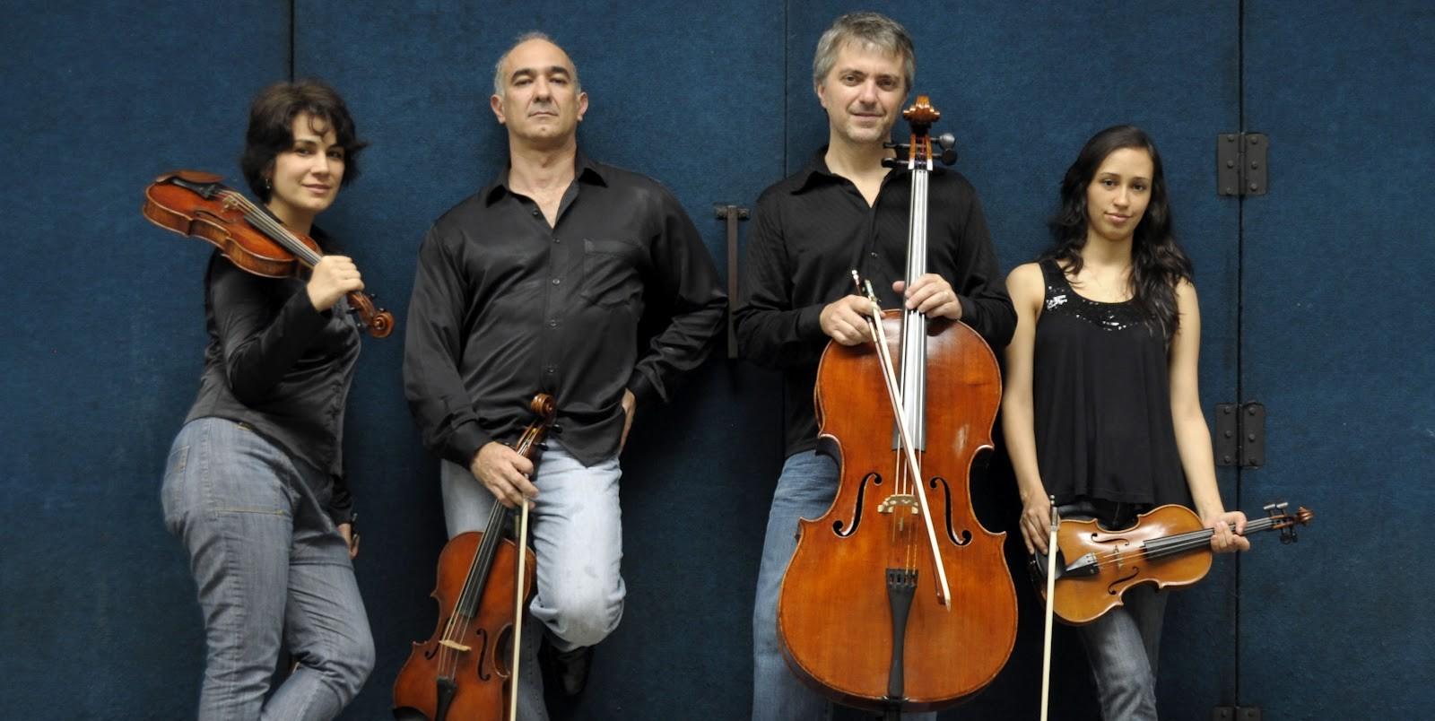 Quarteto Radamés Gnattali Foto:  Janaína Perotto