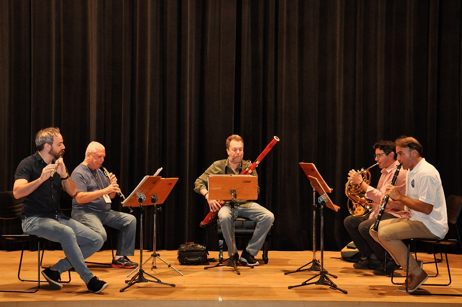 Ensaio Wind Ensemble