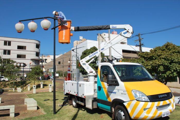 Sercomtel deve ampliar sistema de luminárias com gerenciamento à distância até o final do ano