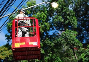 Iluminação de LED será instalada em ruas do jardim San Fernando ainda nesta semana