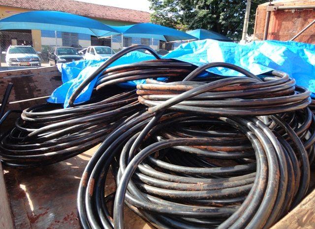 Aumenta prejuízo da Sercomtel com furto de cabos telefônicos