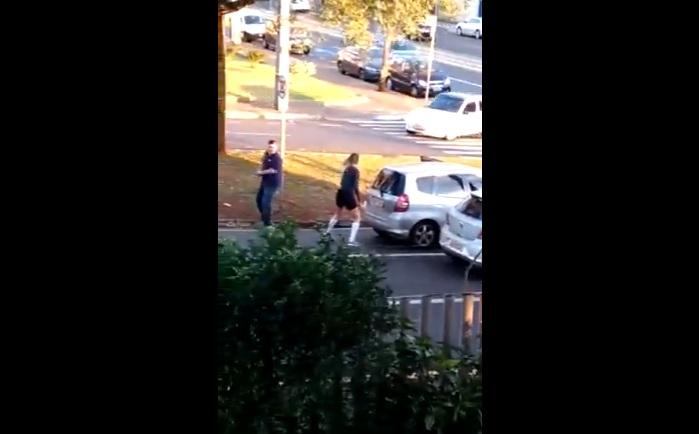 Homem que atropelou e arrastou mulher é detido em Londrina
