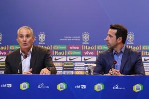 Tite - Seleção Brasileira - Foto CBF