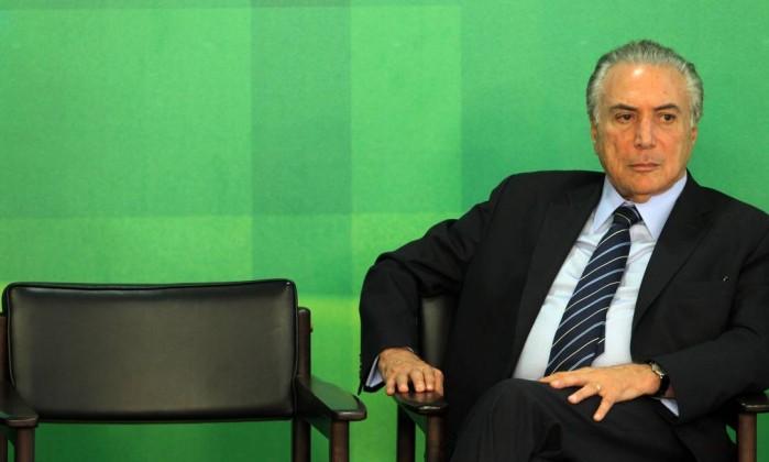 """""""Querem tirar Temer da vida pública"""", diz Planalto sobre operação"""