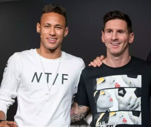 Neymar Messi Foto Getty Images