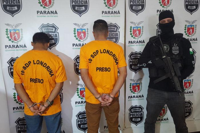 Suspeitos de participação em latrocínio na zona norte são presos