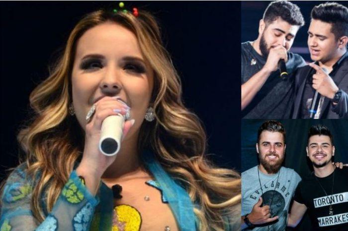 Zé Neto e Cristiano, Henrique e Juliano e Larissa Manoela são anunciados na Expo