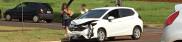 Veículos se envolvem em acidente na zona sul