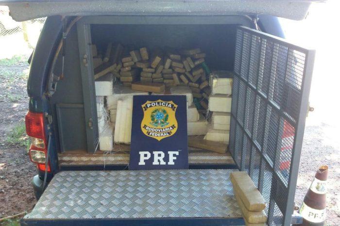 PRF apreende 265 quilos de maconha