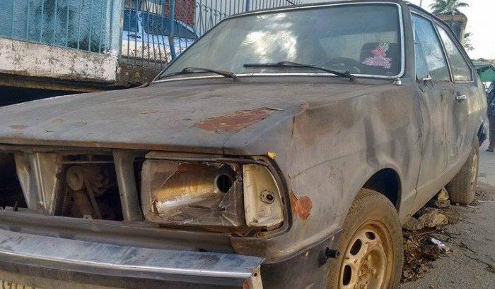 Projeto que recolhe carros abandonados não saiu do papel