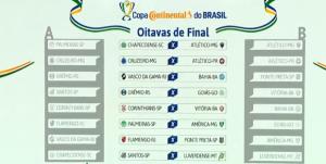 Sorteio da CBF define confrontos das oitavas de final da Copa do ... ffa2a4076a669