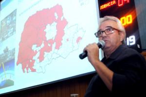 José Carlos Moraes - diretor da 17ª Regional de Saúde. Foto Devanir Parra/CML