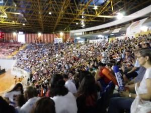O Moringão recebeu o público de 4280 pessoas para a grande final. Foto: Fábio Fernandes