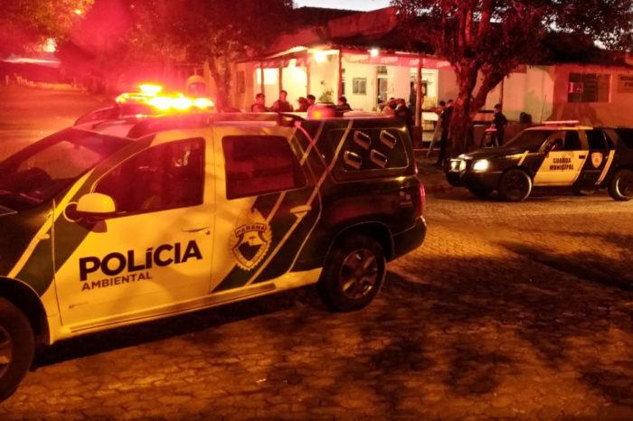 Forças de segurança realizam operação em distritos de Londrina