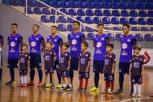 Time profissional do Londrina Futsal. Foto: Divulgação