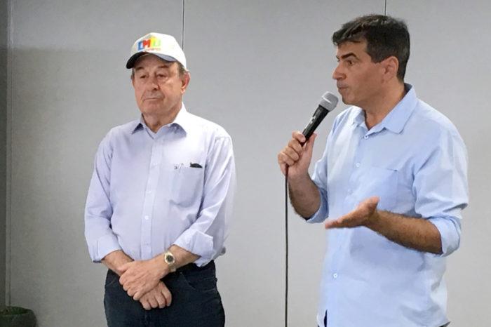 Presidente da Codel, Moacir Sgarioni deixa a administração Belinati
