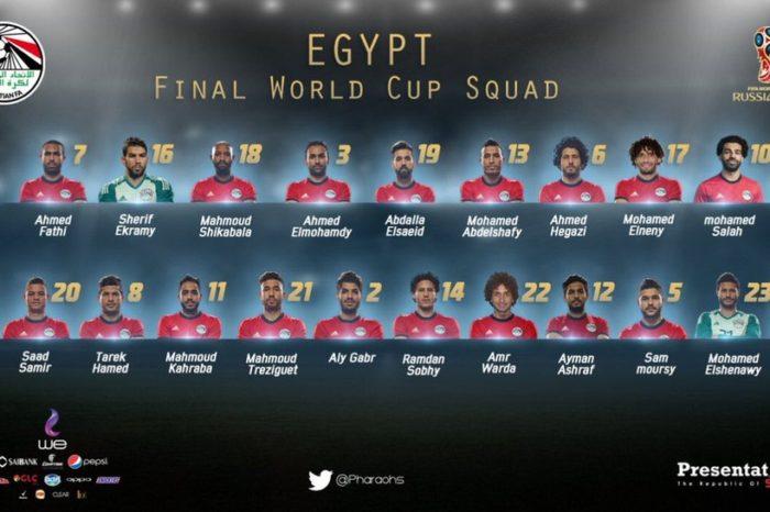 Egito confirma Salah na Copa