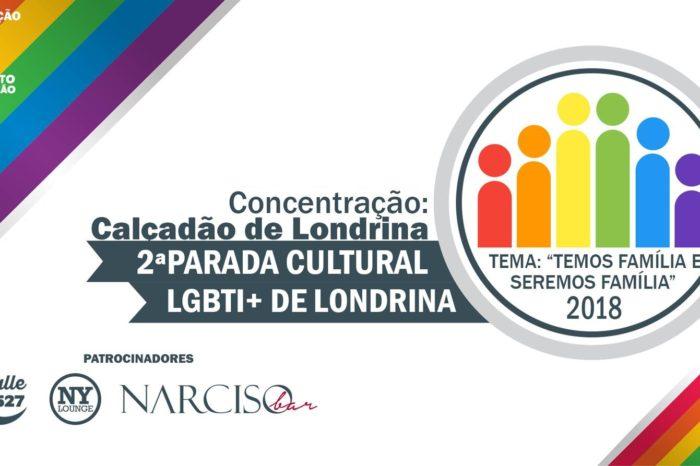 2ª Parada Cultural LGBTI+ de Londrina será realizada em setembro