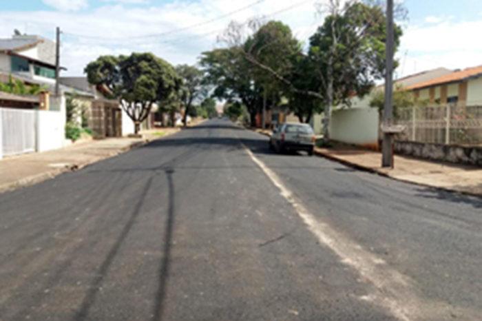 Ruas do jardim Aragarça são recapeadas