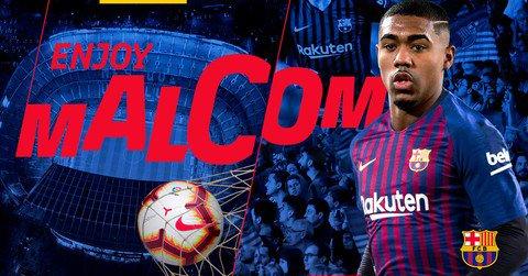 Barcelona atravessa negociação da Roma e anuncia a contratação de Malcom