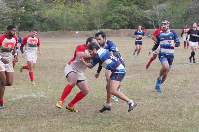 Pé Vermelho Rugby larga na frente, mas sofre virada e perde