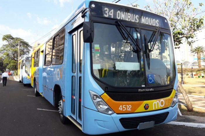 Novos ônibus entregues não contam com lugar para cobrador
