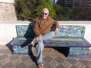 O poeta paranaense Dinovaldo Gilioli. Foto: Divulgação