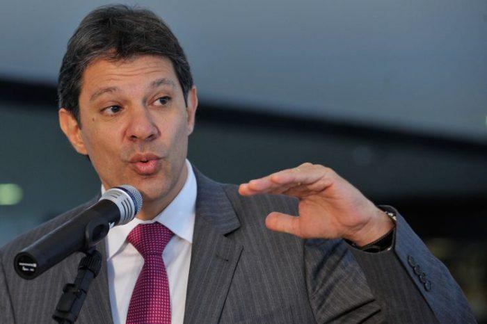 PT define Fernando Haddad como vice de Lula na disputa eleitoral
