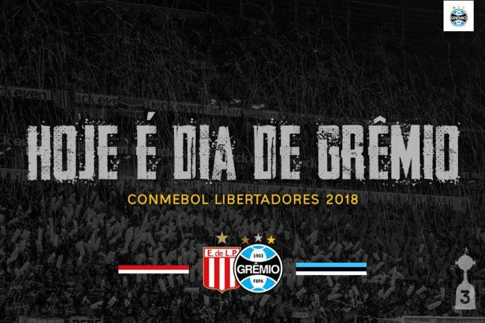 Grêmio enfrenta o Estudiantes pelas oitavas de final da Libertadores nesta terça-feira (7)
