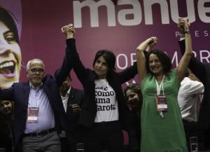 A convenção do PCdoB referendeu a candidatura de Manuela D'ávila à presidência (Agência Brasil)