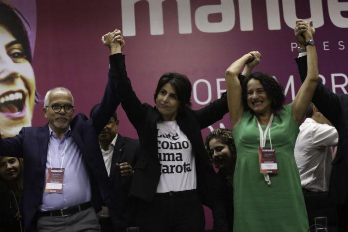 Manuela d'Ávila é confirmada candidata do PCdoB