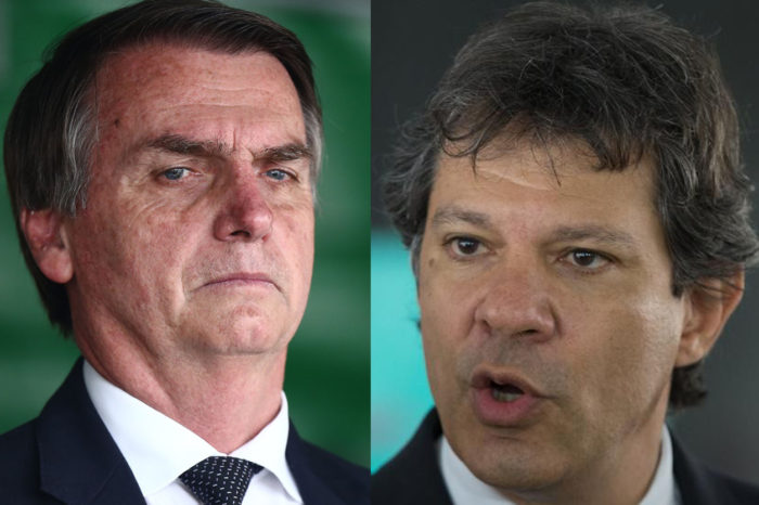 Datafolha: Bolsonaro tem 39% dos votos válidos e Haddad 25%