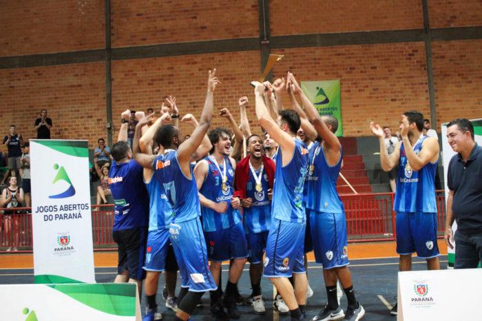 Londrina é vice-campeã nos Jogos Abertos do Paraná