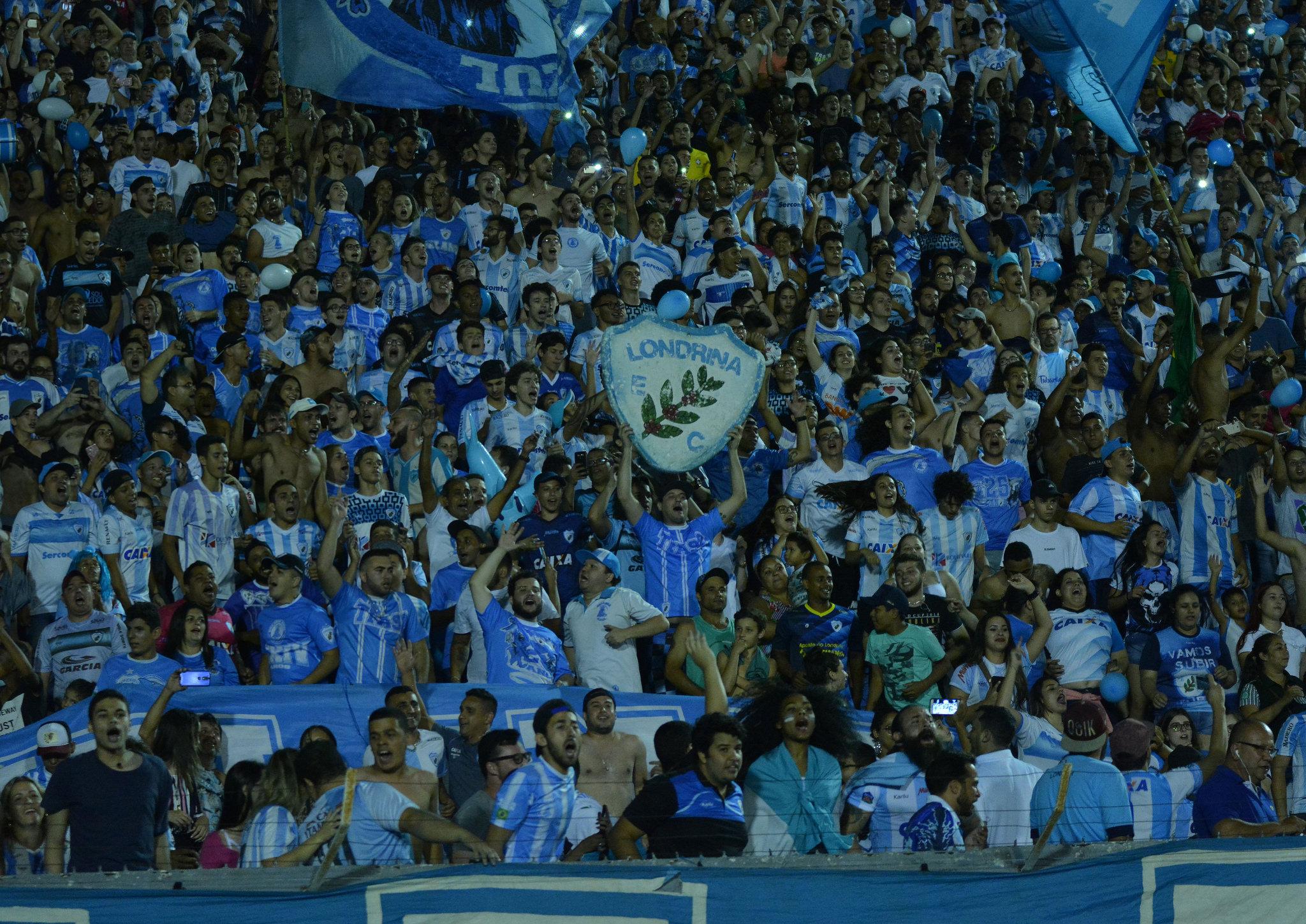 Londrina faz promoção de ingressos para próximos dois jogos no Estádio do Café