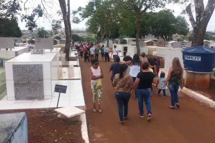 Acesf espera movimento intenso nos cemitérios