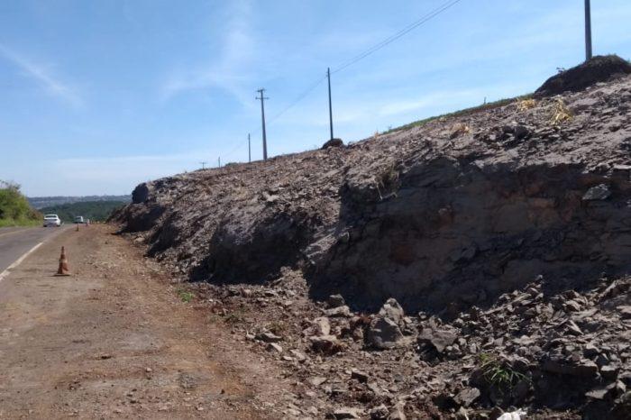PR-445 será bloqueada para detonação de rochas
