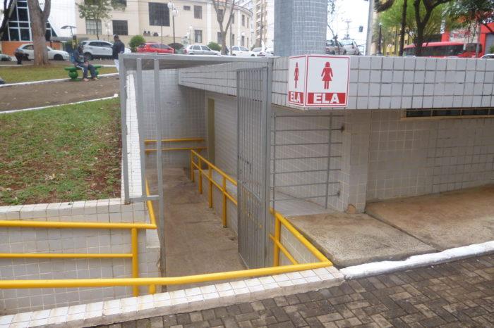 Banheiros da Praça da Bandeira funcionam até às 21h30 em dezembro