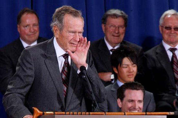 Vários governantes lamentam morte de George Bush, aos 94 anos