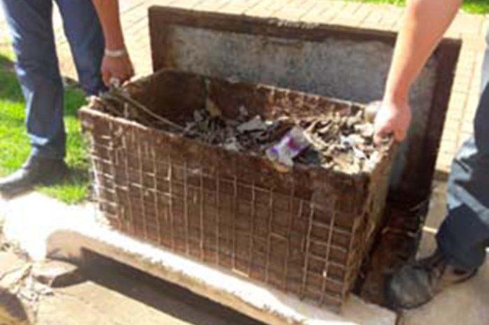Câmara aprova projeto que prevê equipamento para conter lixo em bueiros