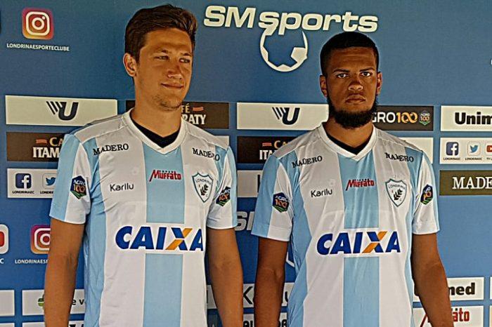 Londrina apresenta volante e zagueiro para a disputa do Paranaense