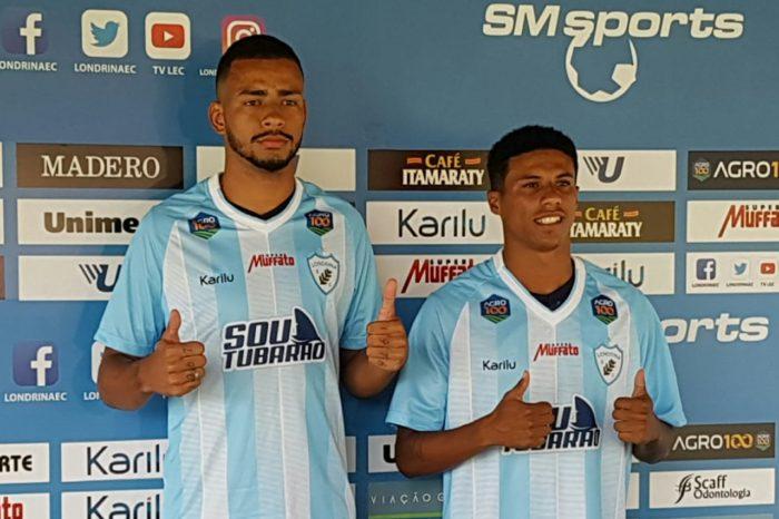 Londrina apresenta zagueiro e atacante para a sequência do Campeonato Paranaense