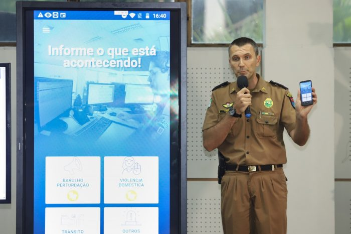 População londrinense pode acionar PM por meio de aplicativo