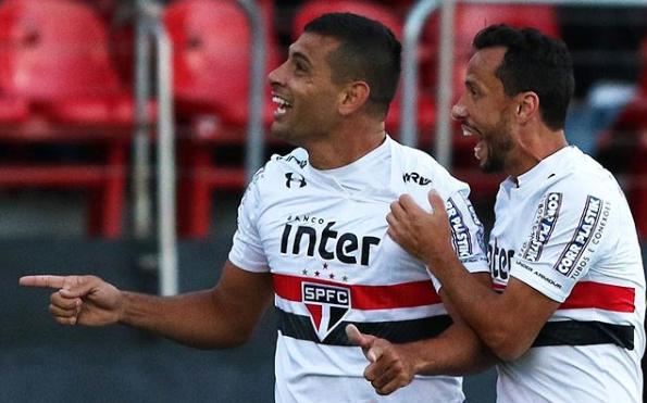 Por decisão de Cuca, Nenê e Diego Souza serão afastados do São Paulo